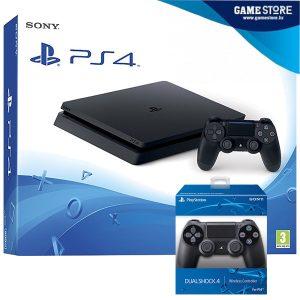 PlayStation 4 Slim 500GB Dodatni kontroler DualShock 4 novo i zapakirano najbolja cijena PlayStation servis