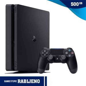 PlayStation 4 Slim 500GB rabljena konzola najbolja cijena gamestore.hr